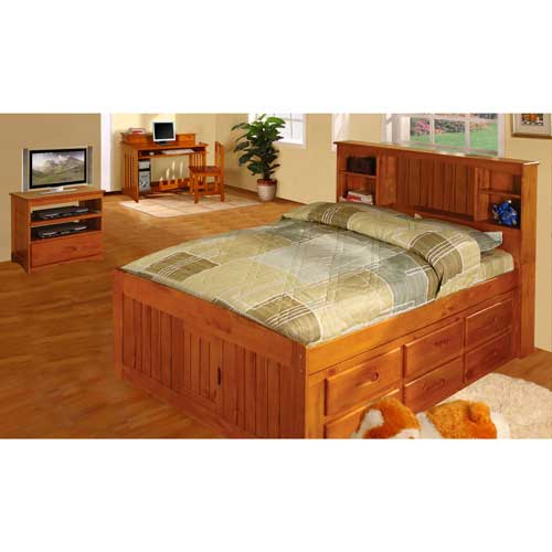 SOLID PINE WOOD BEDS
