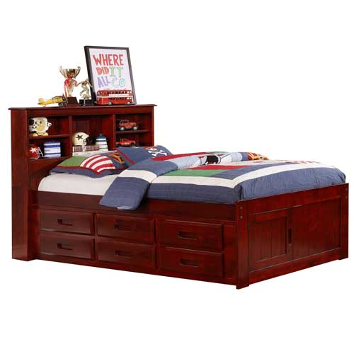 FULL SIZE CAPTAINS BEDS