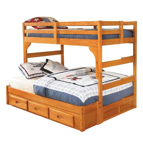 DOWNSTACKABLE BUNK BEDS